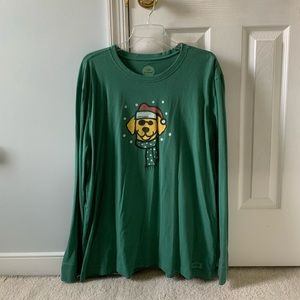 Life is Good Crusher XL Long Sleeve Tee